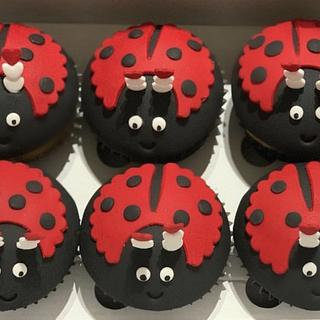 Love Bugs Cupcakes