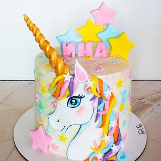 Unicorn cake - Cake by TortIva