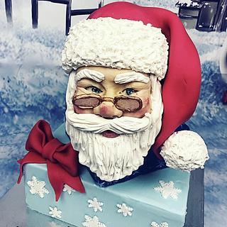 Merry Christmas  - Cake by Dina's Tortenwelt