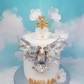 First Communion Cake - Cake by Dina's Tortenwelt