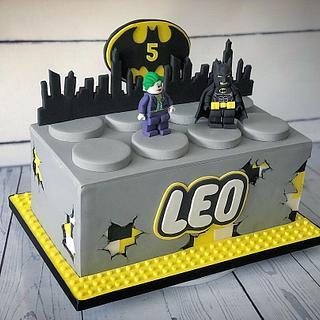 Lego Batman cake  - Cake by Maria-Louise Cakes