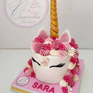 TARTA UNICORNIO SARA - Cake by Camelia
