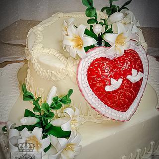 Mater Castissima - Cake by Regina Coeli Baker