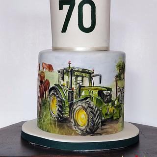 70th Farm Cake
