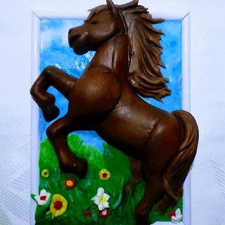 Horse 🐴 - Cake by Édesvarázs