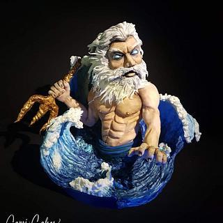 Poseidon the Myths Collaboration  - Cake by Claudia Kapers Capri Cakes