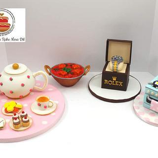 Fondant Theme Cakes