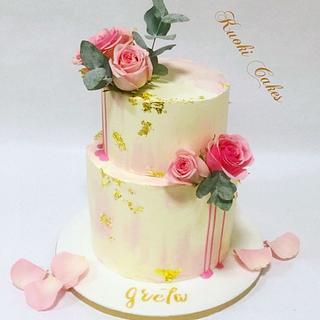 Drip cake Birthday  - Cake by Donatella Bussacchetti