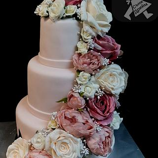 Wedding cake  - Cake by Sunny Dream