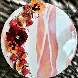 Mirror glaze cake  - Cake by TinkyCake