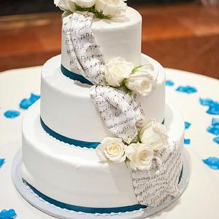 Wedding Cake - Cake by Julia San Bartolome