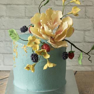 Spring cake for mum