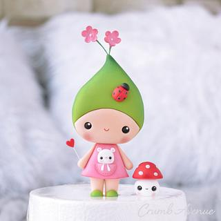 Flower Fairy - Cake by Crumb Avenue