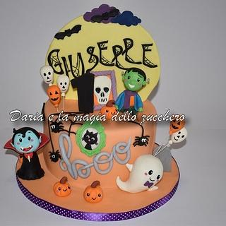 Halloween cake baby - Cake by Daria Albanese