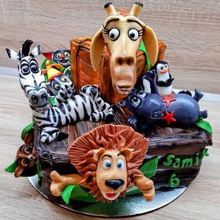 Madagascar - Cake by Majka Maruška