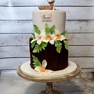 Baptism cake:) - Cake by SojkineTorty