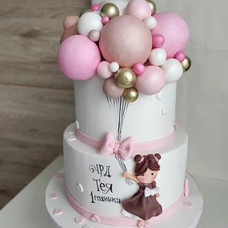 Balloon dream - Cake by Tanya Shengarova