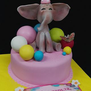 Cake Little Elephant