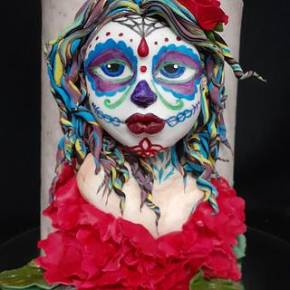 My Catrina for the Catrina Parade Collab - Cake by Sabrina Mattia