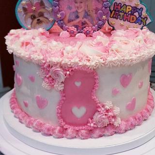 """JoJo"" Themed 8th Birthday Cake"