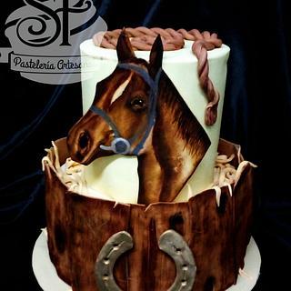 """""""Fuerza y Serenidad"""" - Cake by Solana Falletti (Sol)"""