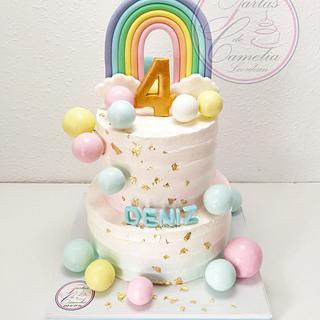 TARTAS CUMPLEAÑOS DENIZ - Cake by Camelia
