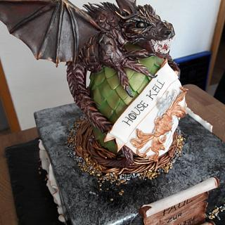 Game of Thrones Themed cake - Cake by LaniesCakery