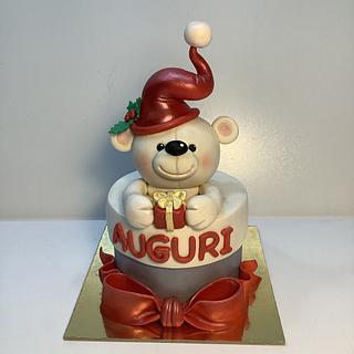Merry Christmas - Cake by Carla Poggianti Il Bianconiglio