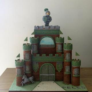 The Knight of the Green Castle - Cake by The Garden Baker