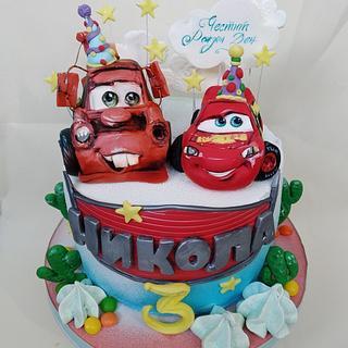 Cars - Cake by Tanya Shengarova