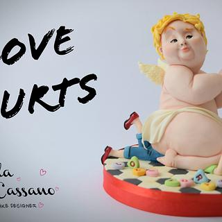 Love Hurts!  - Cake by Angela Cassano