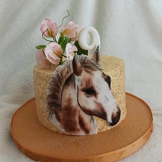 Horse - Cake by Anka
