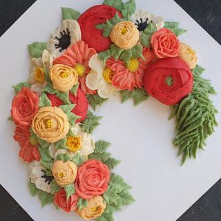 Beanpaste flowers