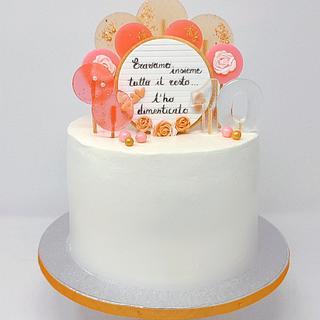 Anniversario - Cake by IlsognodiAnnette