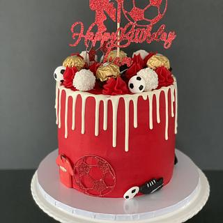 Manchester United cake - Cake by Penny Sue