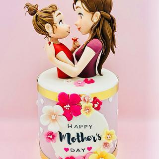 Ti voglio bene Mami - Cake by Romina Novellino