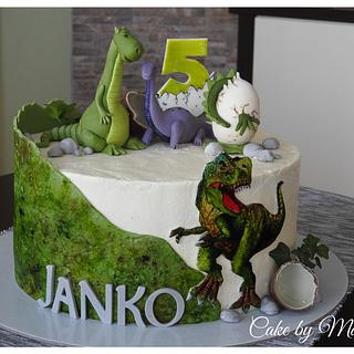 DINO cake  - Cake by MartaMc