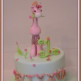 The little pink giraffe