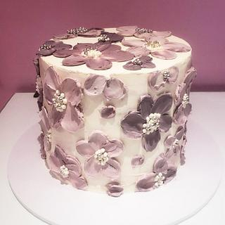 Palette knife cake  - Cake by miracles_ensucre