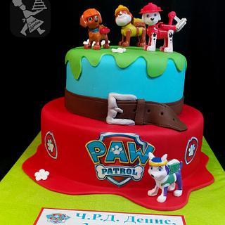Cake paw patrol - Cake by Sunny Dream