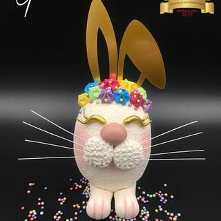 Easter Bunny Egg cake  - Cake by Cake Garden