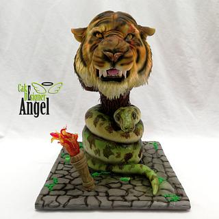 "Cake ""The Jungle Book"" - Cake by Angel Torres"