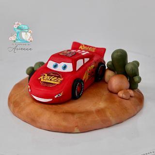 Saetta McQueen cake topper  - Cake by Arianna