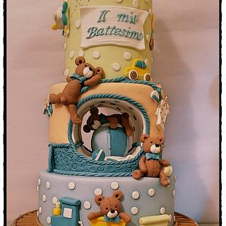 Teddy cake - Cake by zuccheroperpassione