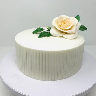 Rose - Cake by IlsognodiAnnette
