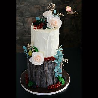 Forest cake <3  - Cake by Julie's Sweet Cakes