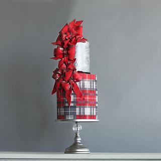 HOLI-BOW CAKE - Cake by Eva Salazar