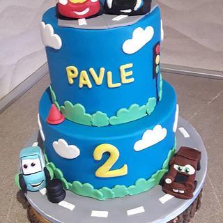 Cars cake - Cake by Torte Panda