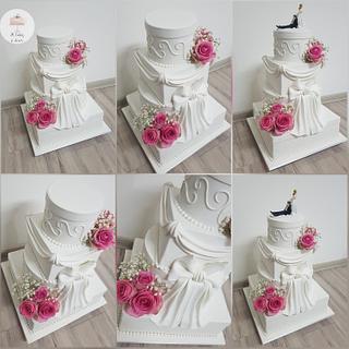 Wedding cake🌹