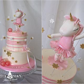Sweet unicor ballerina